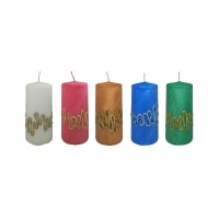 Decorative Pillar Candle - Annabelle Collection